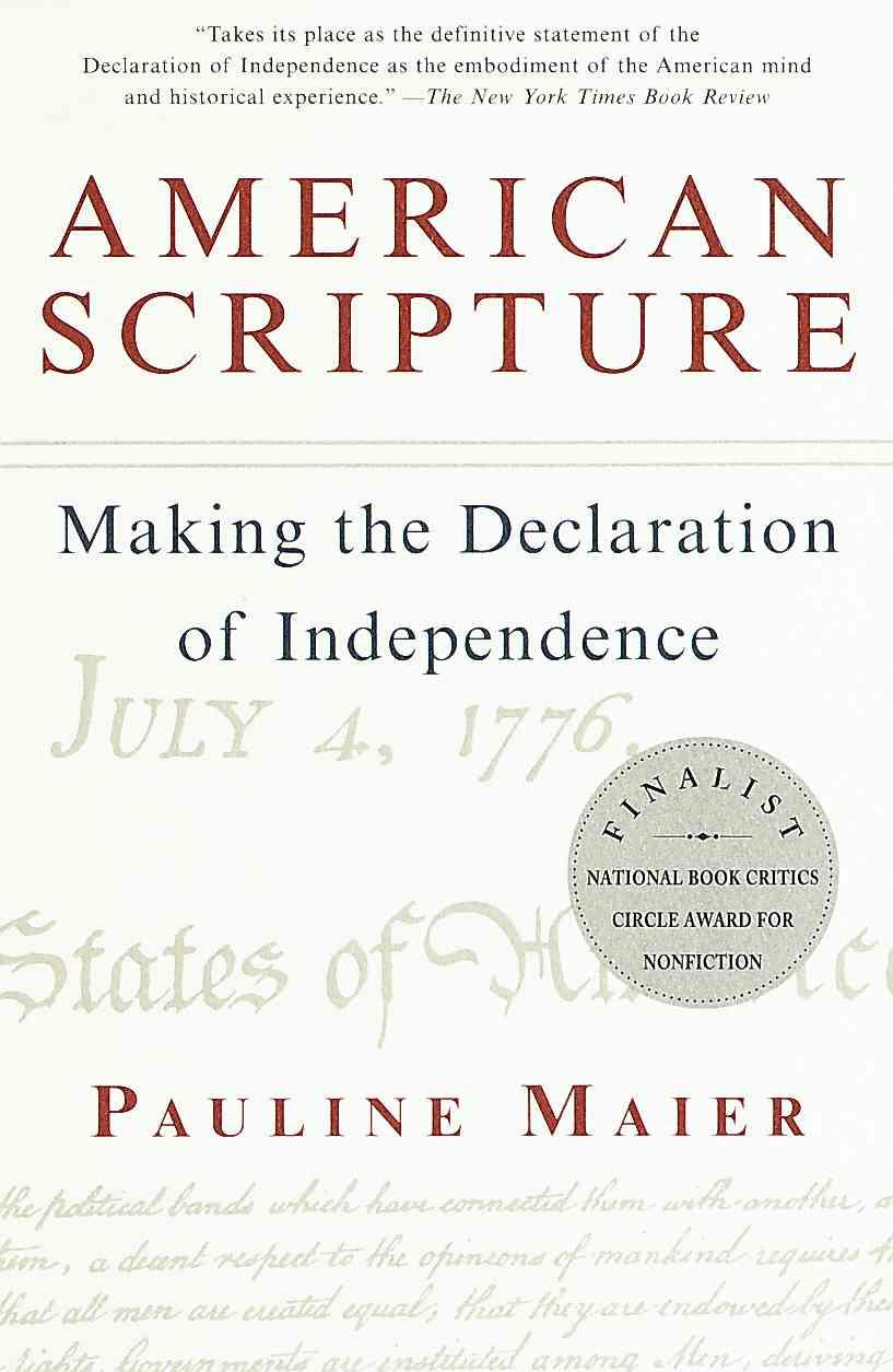 American Scripture By Maier, Pauline